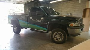 partial truck wrap graphics