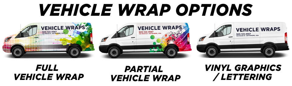 Louisville Vehicle Wraps & Graphics vehicle wrap options